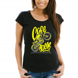 Dámské tričko Premium - Cafe Racer