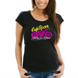 Dámské tričko Premium - Cafe Racer 02